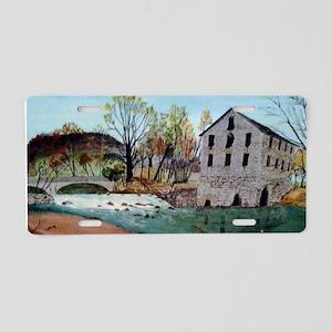 Graysville Mill-A.Vaughn Aluminum License Plate