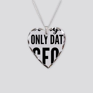 Revenge Nolan I Only Date CFO Necklace Heart Charm