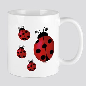 Four ladybugs Mug