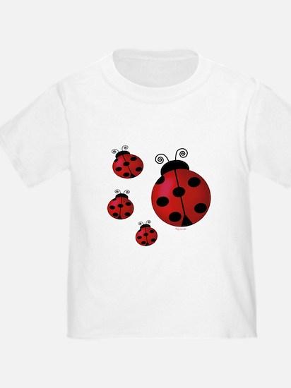 Four ladybugs T