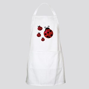 Four ladybugs BBQ Apron