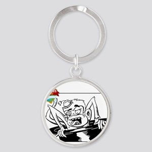 cca guest laundry Round Keychain