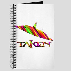 Taken by a UFO Multi-Colored 2 Journal