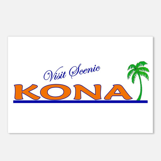 Visit Scenic Kona, Hawaii Postcards (Package of 8)
