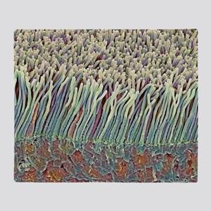 Retina rod cells, SEM Throw Blanket