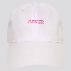 Katherine Pierce Quote Baseball Cap