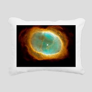 Planetary nebula NGC 313 Rectangular Canvas Pillow