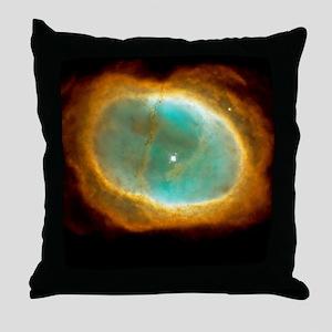 Planetary nebula NGC 3132 Throw Pillow