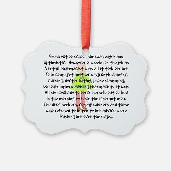 pharmacist story art 1 female Ornament