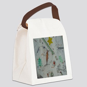 Plankton at Christmas Island Canvas Lunch Bag