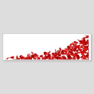 Red blood cells Sticker (Bumper)
