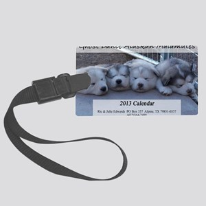 Calendar cover Large Luggage Tag