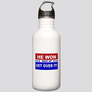 He Won Shut Up Get Ove Stainless Water Bottle 1.0L