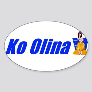 Ko Olina, Hawaii Oval Sticker