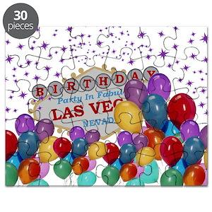 Vegas Birthday Puzzles