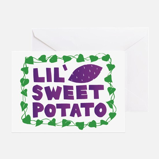 Lil Sweet Potato Greeting Card