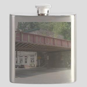 Ellicott City Bridge Flask