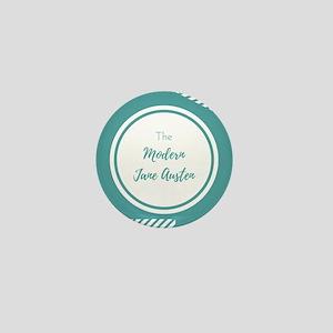The Modern Jane Austen Logo Mini Button