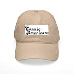 White or Tan Cosmic Hat