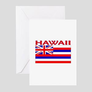Hawaii Flag (Light) Greeting Cards (Pk of 10)