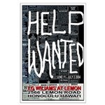 LG Williams: Help Wanted Poster