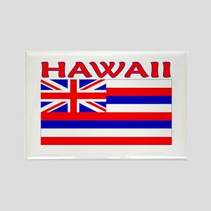 Hawaii Flag (Light) Rectangle Magnet