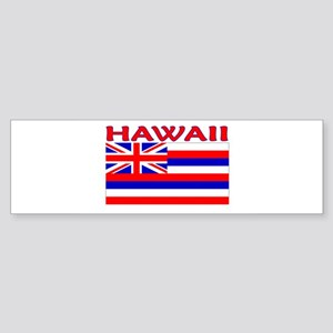 Hawaii Flag (Light) Bumper Sticker