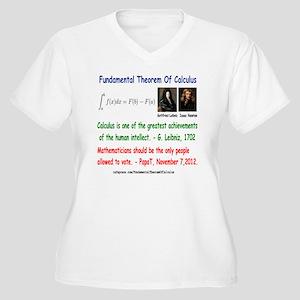 FTC Women's Plus Size V-Neck T-Shirt