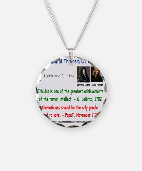 FTC Necklace Circle Charm