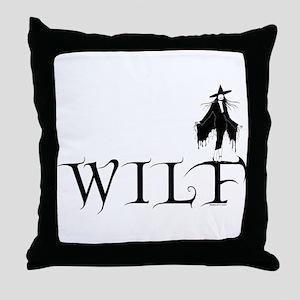 WILF Throw Pillow