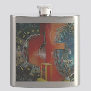 CDF particle detector, Fermilab Flask