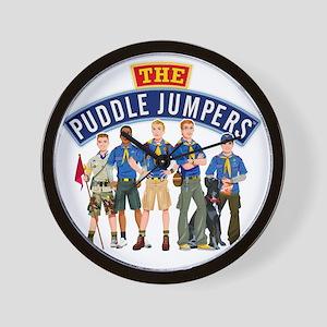 01Puddle Jumper Shirt Wall Clock