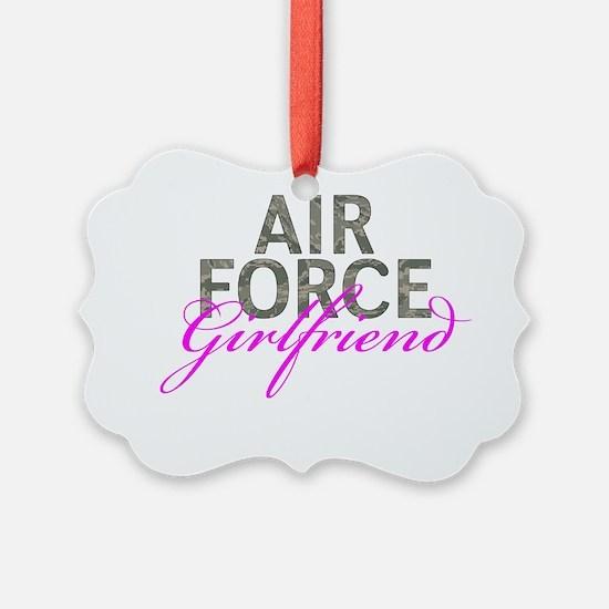Air Force Girlfriend Ornament