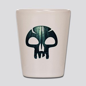 Magic the Gathering Swamp Skull Shot Glass