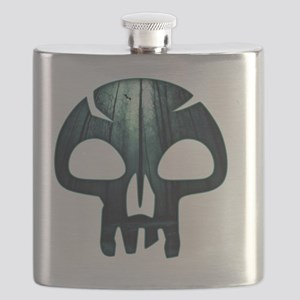 Magic the Gathering Swamp Skull Flask