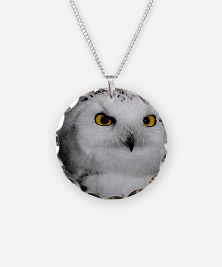 Snowy Owl Oscar Necklace