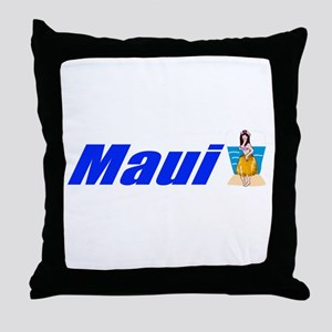 Maui, Hawaii Throw Pillow