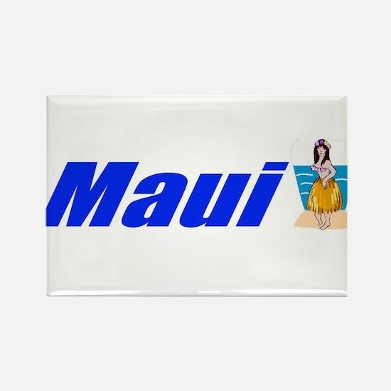 Maui, Hawaii Rectangle Magnet