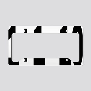 binaryrectangle License Plate Holder