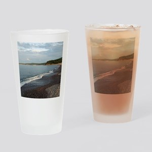 Peaceful dusk#4 Dingwall Cape Breto Drinking Glass