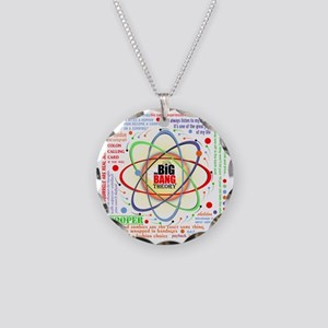 Big Bang Theory Ultimate New Necklace Circle Charm