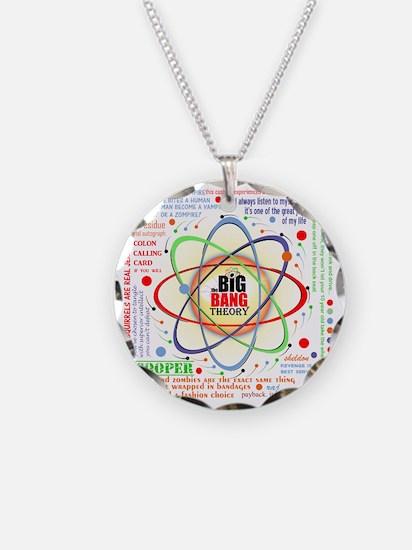 Big Bang Theory Ultimate New Necklace Circle Charm