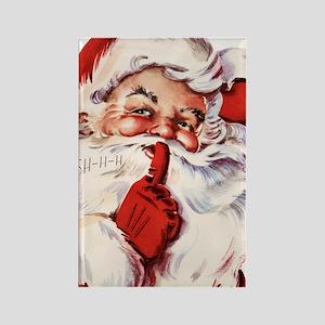 Vintage Santa Rectangle Magnet