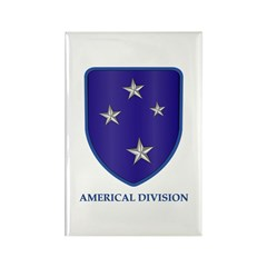 Americal Division Rectangle Magnet