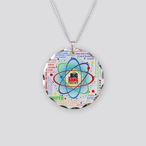 Big Bang Theory New Quotes C Necklace Circle Charm