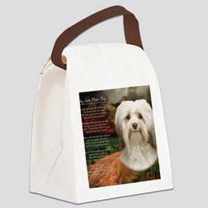 godmadedogs(blanket) Canvas Lunch Bag