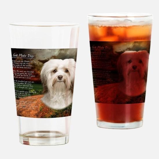 godmadedogs(blanket) Drinking Glass