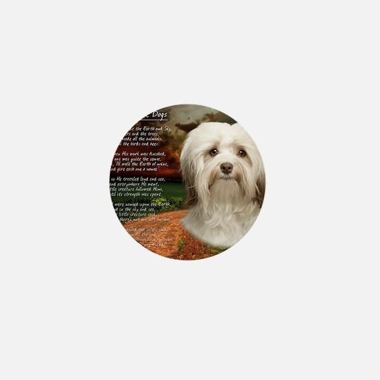godmadedogs(blanket) Mini Button