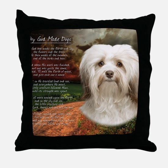 godmadedogs(blanket) Throw Pillow