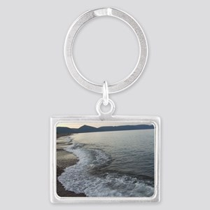 Peace At Dusk Dingwall Cape Bre Landscape Keychain